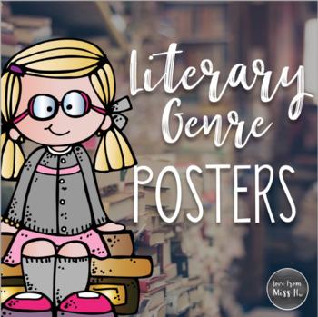 Literary Genre Poster Set