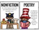 Genre Bulletin Board Poster Set Includes Full and Half Pages