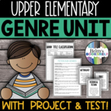 Literary Genre Unit: Genre Activities & Genre Test