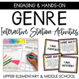 Literary Genre Station Activities