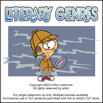Literary Genres Cartoon Clipart