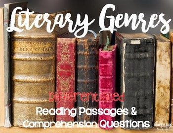 Literary Genres Differentiated Leveled Texts and Questions