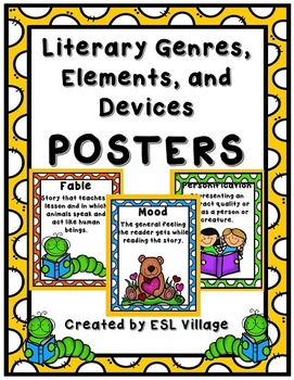 Literature Posters Packet