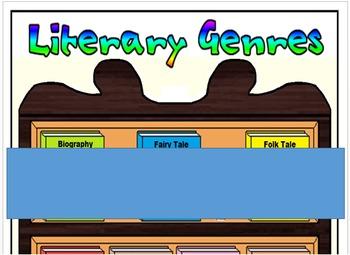 Literary Genres Poster