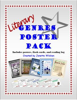 Literary Genres Poster Pack