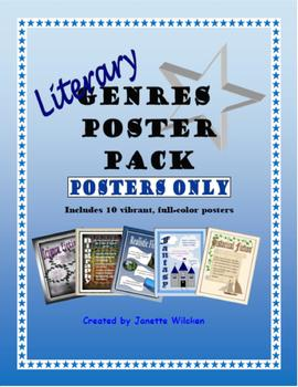Literary Genres Posters (Posters only)