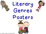 Literary Genres Posters-SCRAPPIN DOODLE ClipArt