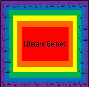 Literary Genres PowerPoint & Printables