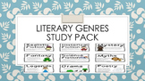 Literary Genres Study Pack