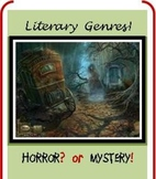 Literary Genres With Annotations and Quiz! Designed With S