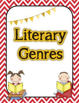 Literary Genres Poster Set