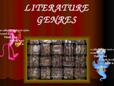 Literary Genres with Links and handouts