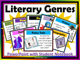 Literary Genres with Student Booklet