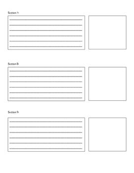 Literary Graphic Organizer Visualization