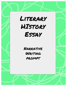 Literary History Essay Prompt