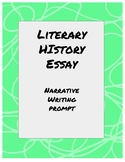 Literary History Essay Prompt