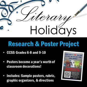 Literary Holidays Research & Poster Project