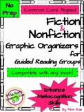 Fiction and Non-fiction Reading Graphic Organizers for Cen