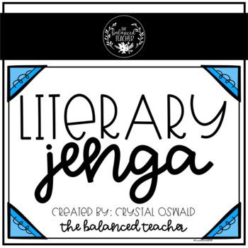 Literary Jenga