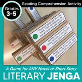 Literary Jenga: Reading Literature Activity for Grades 3-5