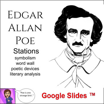 Edgar A.Poe Literacy Stations: high school : poetry and sh