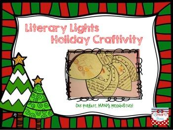 Literary Lights Holiday Craftivity