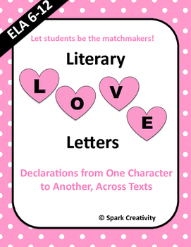 Literary Love Letters: A Valentine's Day Activity for ANY Novel