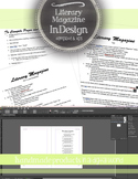 Literary Magazine: InDesign Template, Tips, How To, Staff Handouts