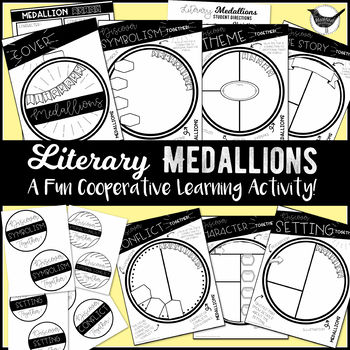 Literary Medallions: A Cooperative Learning Activity