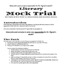 Literary Mock Trial for The Pigman