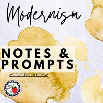 Literary Modernism Notes