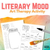 Literary Mood Art Therapy Activity for ELA