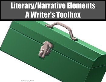 Literary Elements Power Point Presentation 30 slides