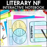 Literary Nonfiction Interactive Notebook Pages