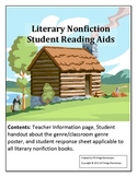 Literary Nonfiction Student Reading Aids for any book in t