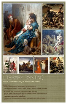 Literary Painting Poster and objective walk through