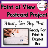 Character/Point of View Activity for Any Text: Literary Postcards