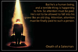 Literary Poster - Death of a Salesman