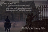 Literary Poster - The Fall of the House of Usher