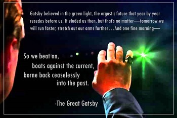 Literary Poster - The Great Gatsby