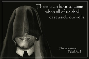 Literary Poster - The Minister's Black Veil