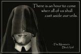 Literary Poster - The Minister's Black Veil