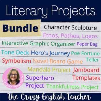 Literary Projects and Activities Bundle
