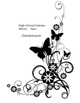 Literary Quiz_High School