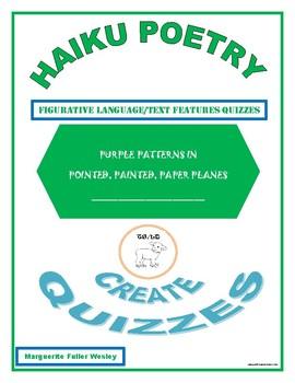 Literary Quizzes in Haiku Format