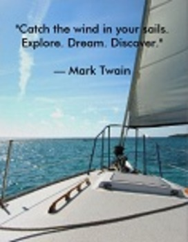 Literary Quote Poster: Mark Twain