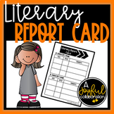 Literary Report Card - Textual Evidence
