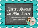 Literary Response Bulletin Board