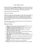 Literary Response Journal
