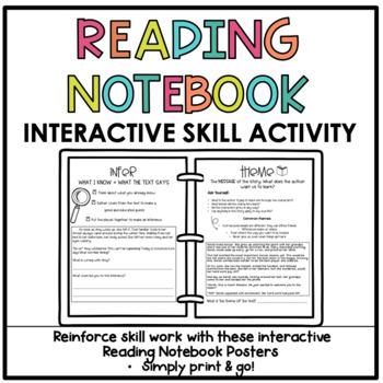 Literary Skill Interactive Notebook